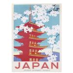 Póster Japonés