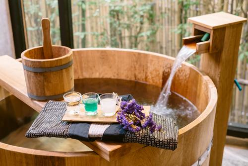 ¿Como hacer un baño japonés?