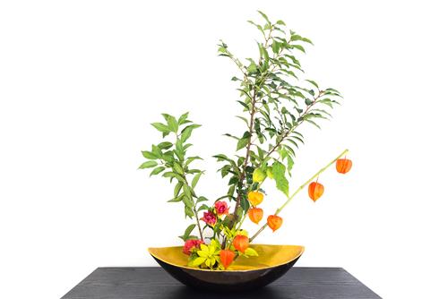 ¿Qué tiene de diferente el Ikebana frente a otros arreglos florales?