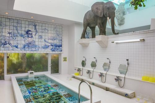 Materiales para un cuarto de baño japonés