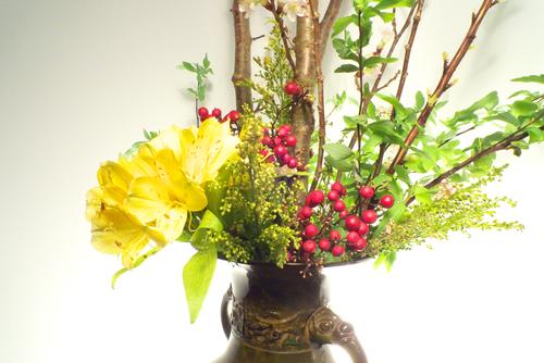 Origen del arte floral ikebana