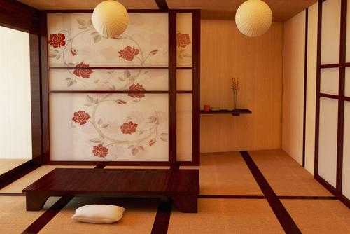 colocar un panel japonés
