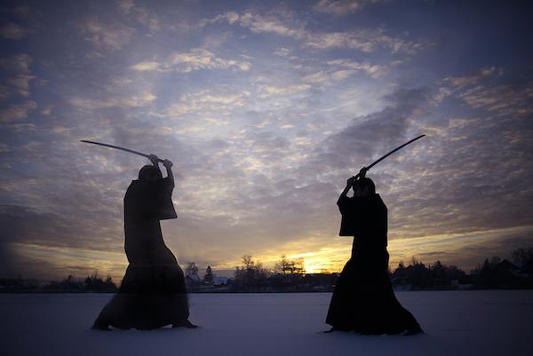 guerreros samurái
