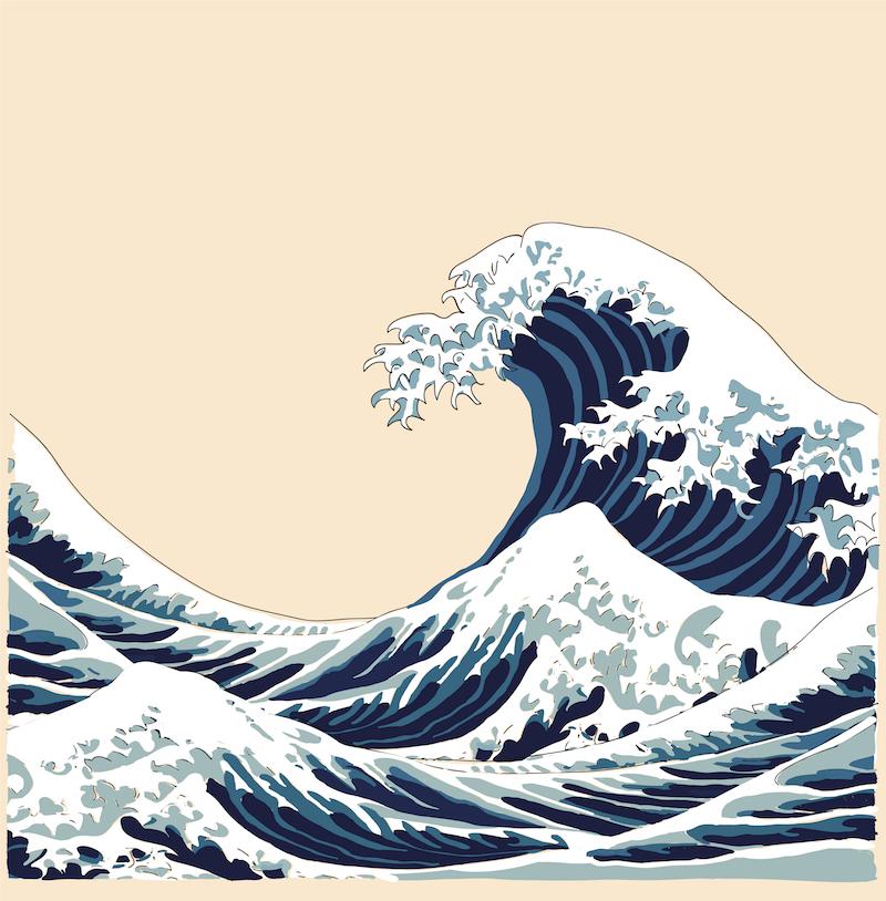 la ola de Kanagawa