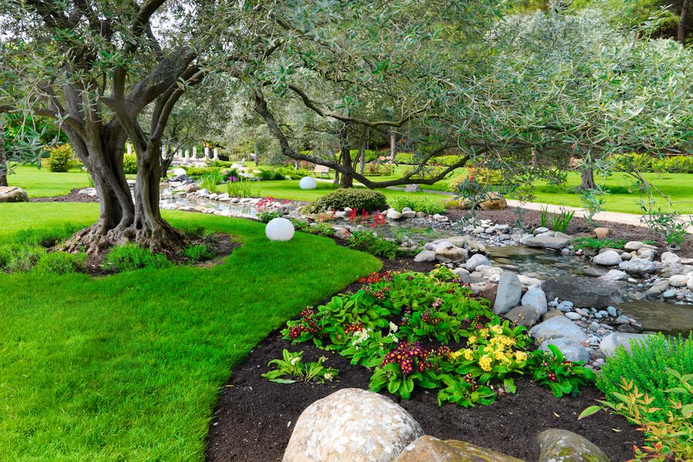 C mo son los jardines japoneses for Los jardines de arbesu