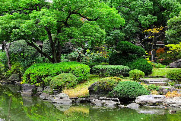 imagenes de jardines japoneses