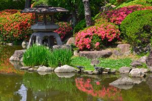 paisajes de jardines japoneses