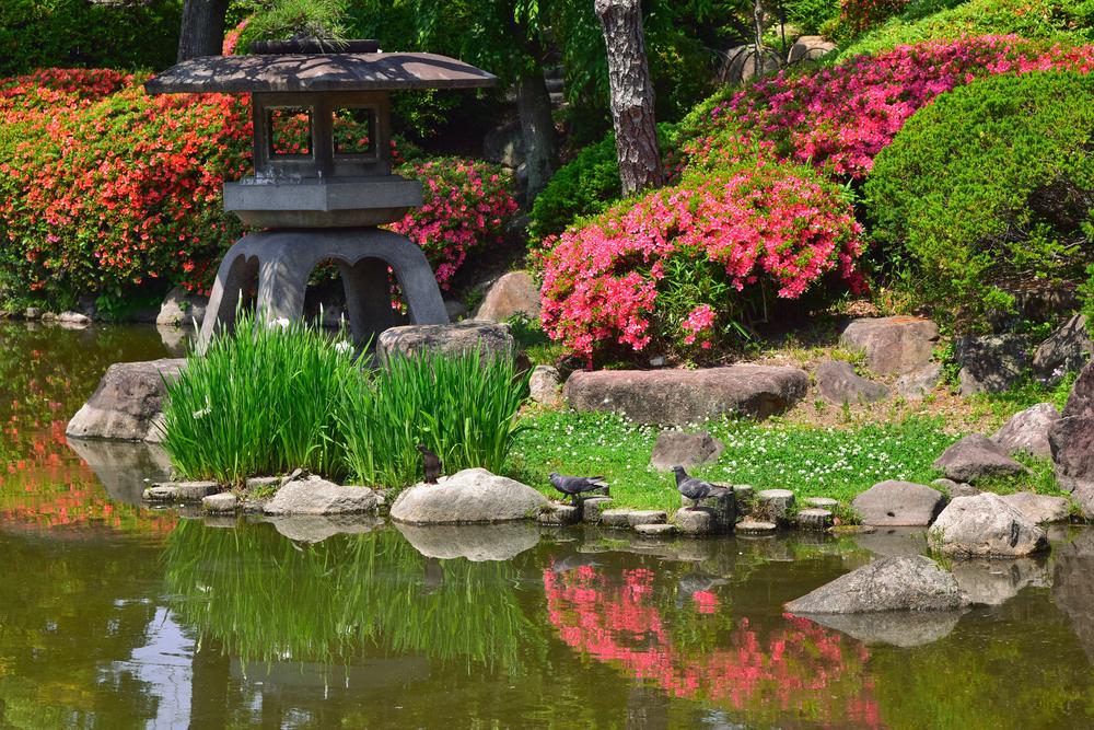 C mo son los jardines japoneses for Paisajes de jardines
