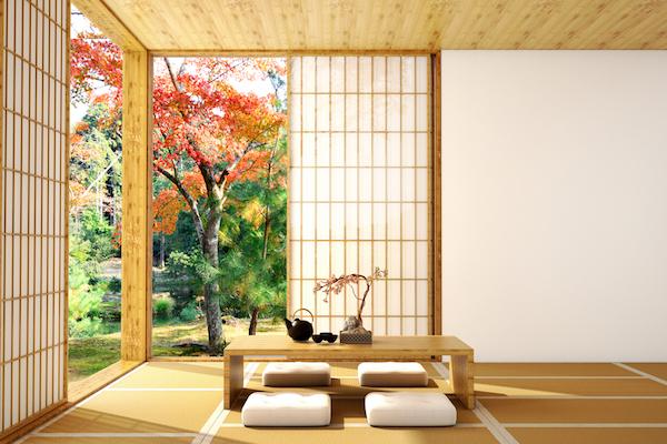 Decoración de salones japoneses