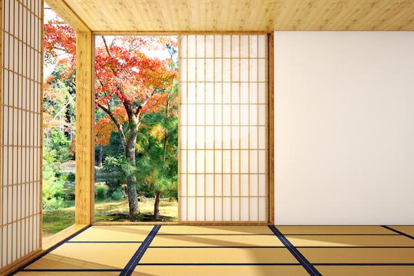 Suelos para la decoración de un salón estilo japonés